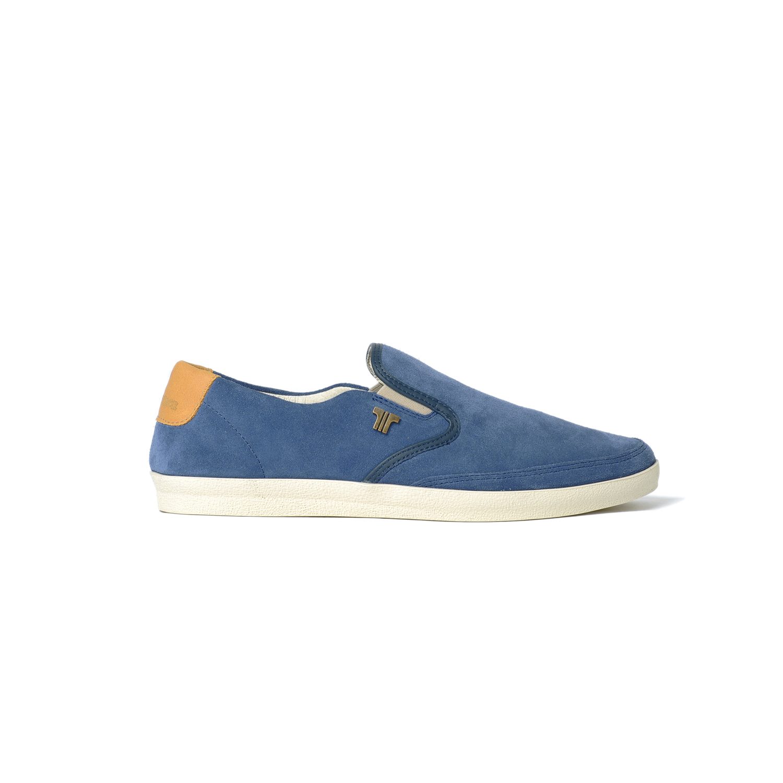Tisza shoes - Regatta - Navy-tobacco