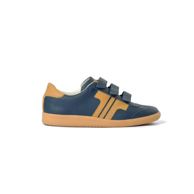 Tisza shoes - Compakt Delux - Navy-tobacco