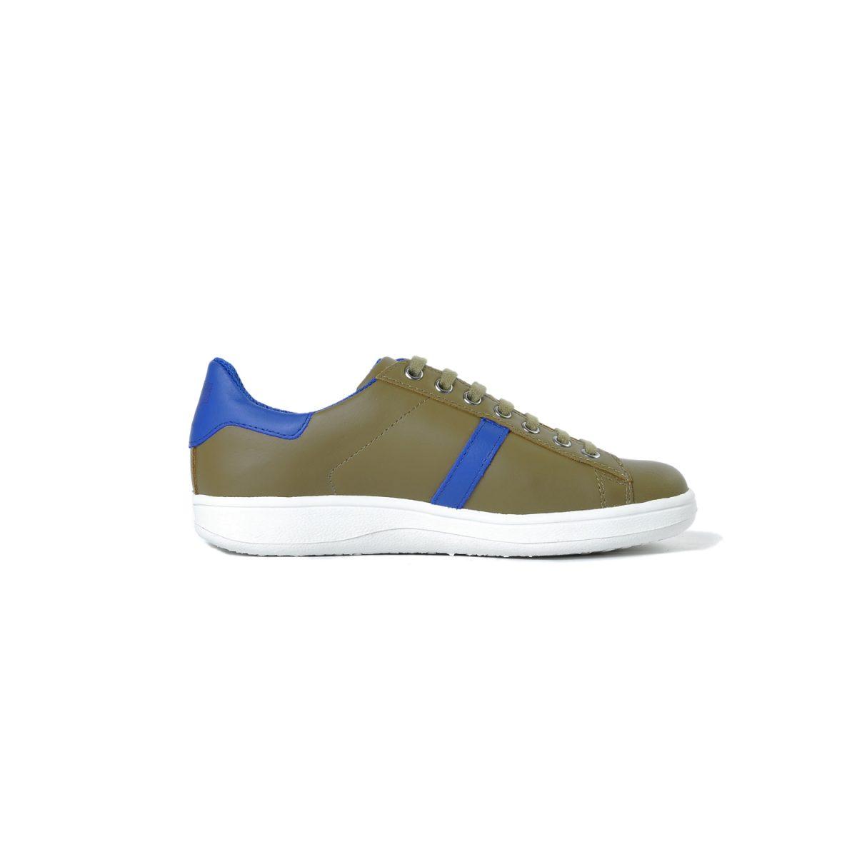 Tisza shoes - Tradíció'80 - Khaki-indigo