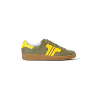 Tisza shoes - Tradíció'80 - Khaki-canary