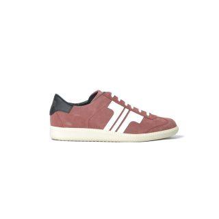 Tisza shoes - Comfort - Maroon-white-black
