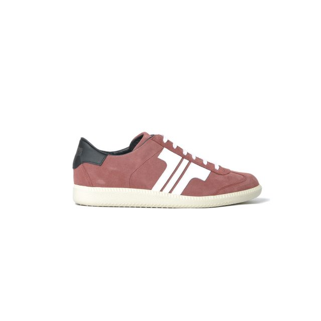 Tisza shoes - Comfort - Maroon-white-black