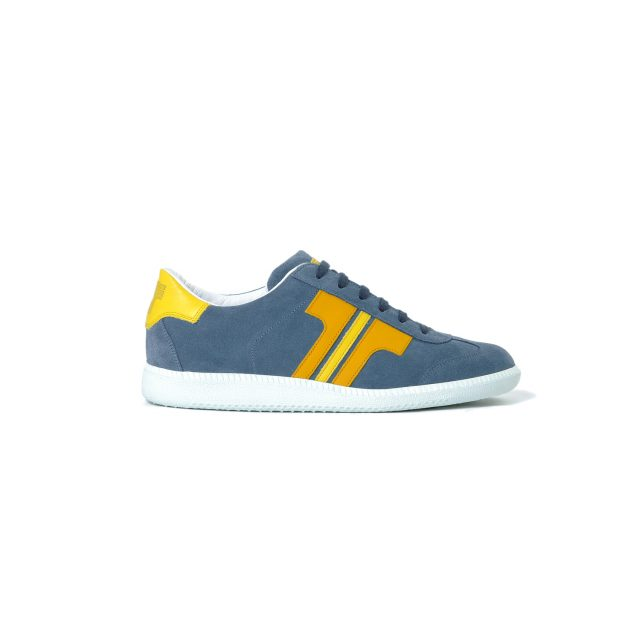Tisza shoes - Comfort - Jeans-yellow-canary