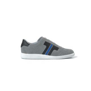 Tisza shoes - Comfort - Grey-black-royal