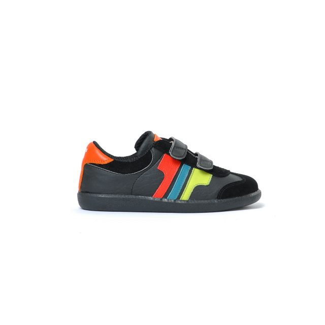 Tisza shoes - Junior - Black-multicolor