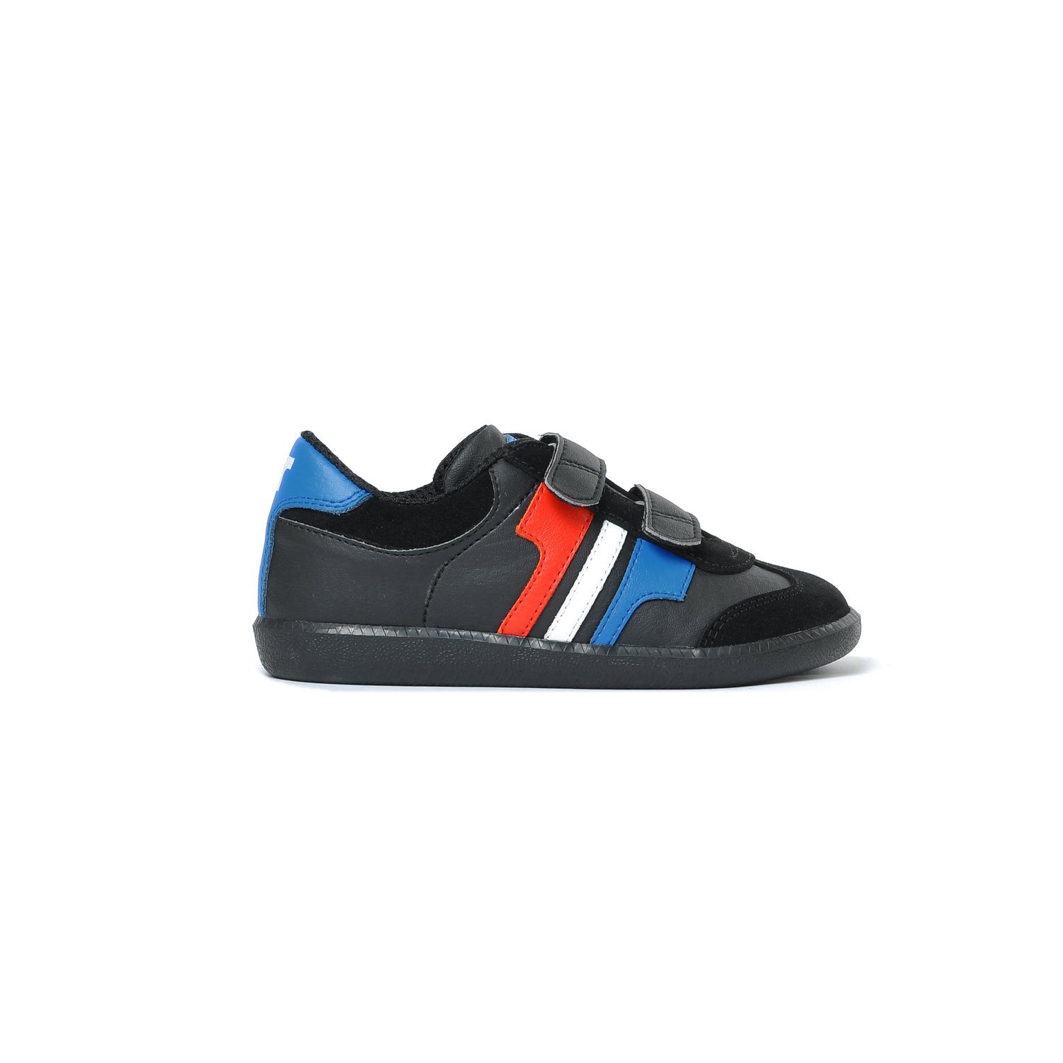 Tisza shoes - Junior - Black-royal-white-red