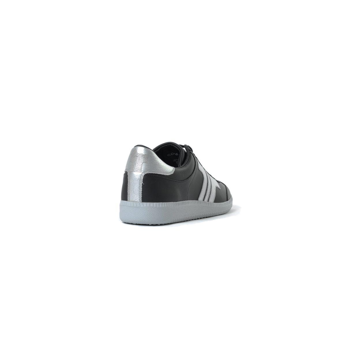 Tisza shoes - Compakt - Black-silver
