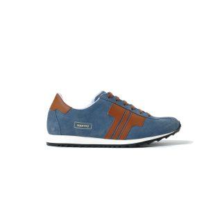 Tisza shoes - Martfű - Jeans-mahagony