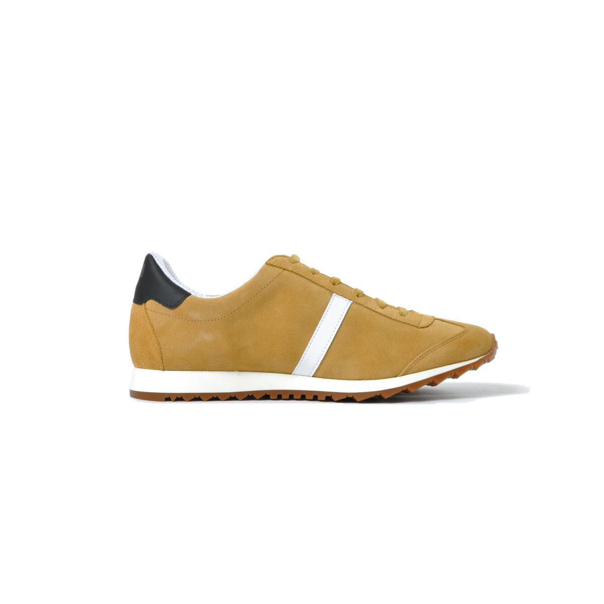 Tisza shoes - Martfű - Tobacco-white-black