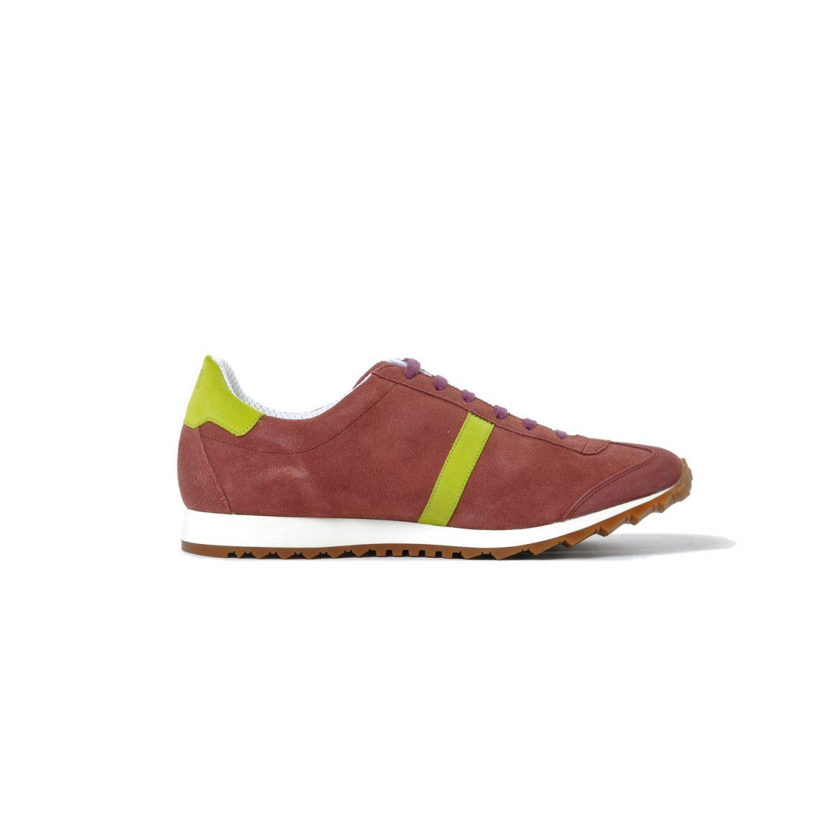 Tisza shoes - Martfű - Maroon-lime