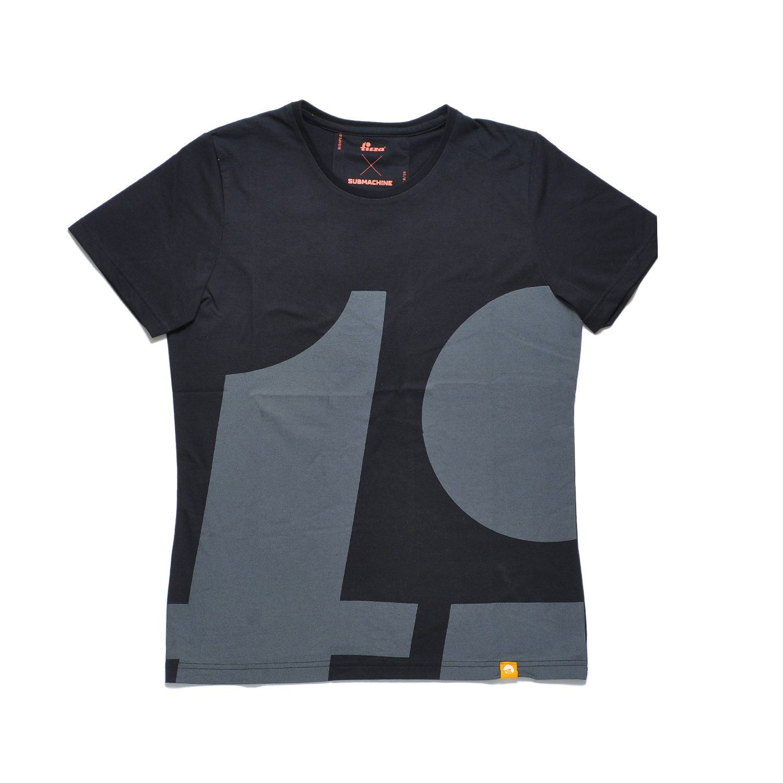 Tisza shoes - T-shirt - Black-tipo