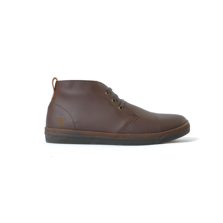 Tisza shoes - Alfa - Brown padded