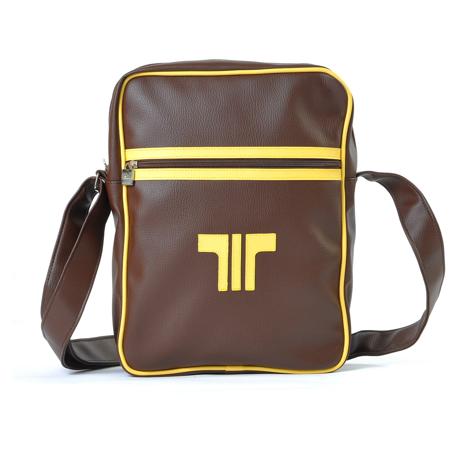 Tisza shoes - Bag - Brown-yellow