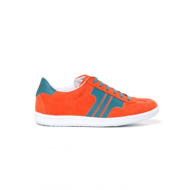 Tisza shoes - Comfort - Salmon-aqua