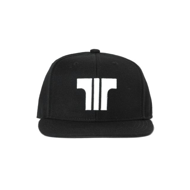 Tisza shoes - Snapback - Black-white
