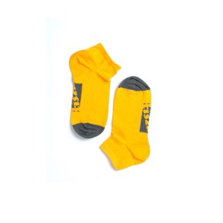 Tisza cipő - Socks - Yellow-grey