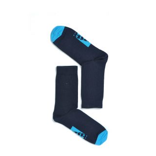 Tisza shoes - Socks - Sport Navy-lightblue