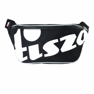 Tisza shoes - Large crossbody belt bag - Black