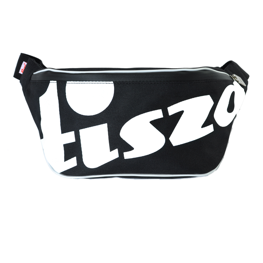 Tisza shoes - Large crossbody belt bag - Black