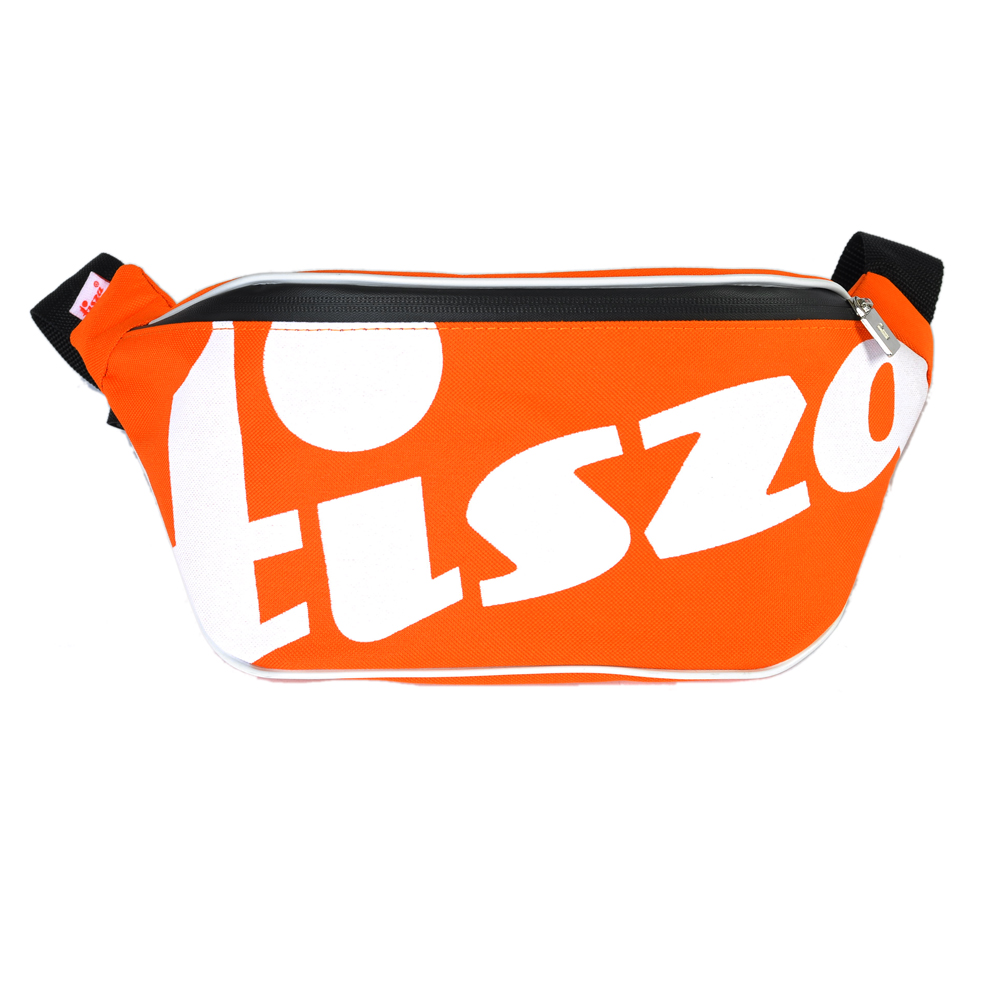 Tisza shoes - Large crossbody belt bag - Orange