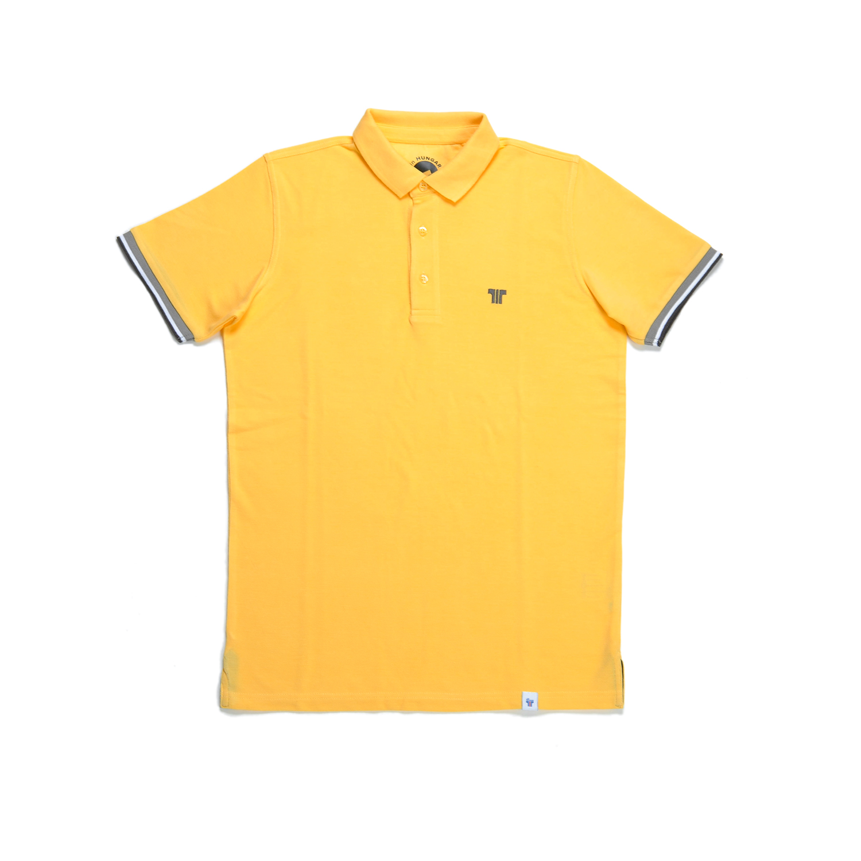 Tisza shoes - Tennis shirt - Yellow