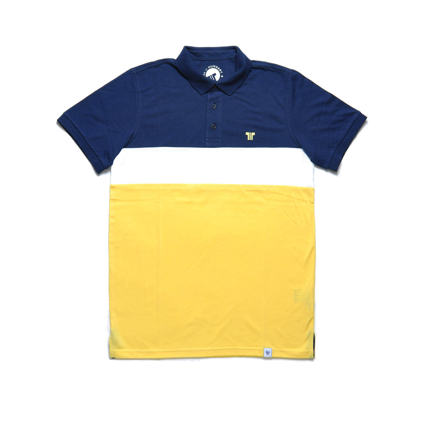 Tisza shoes - Tennis shirt - Canary