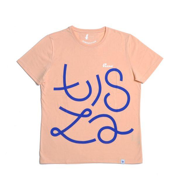 Tisza shoes - T-shirt - Salmon
