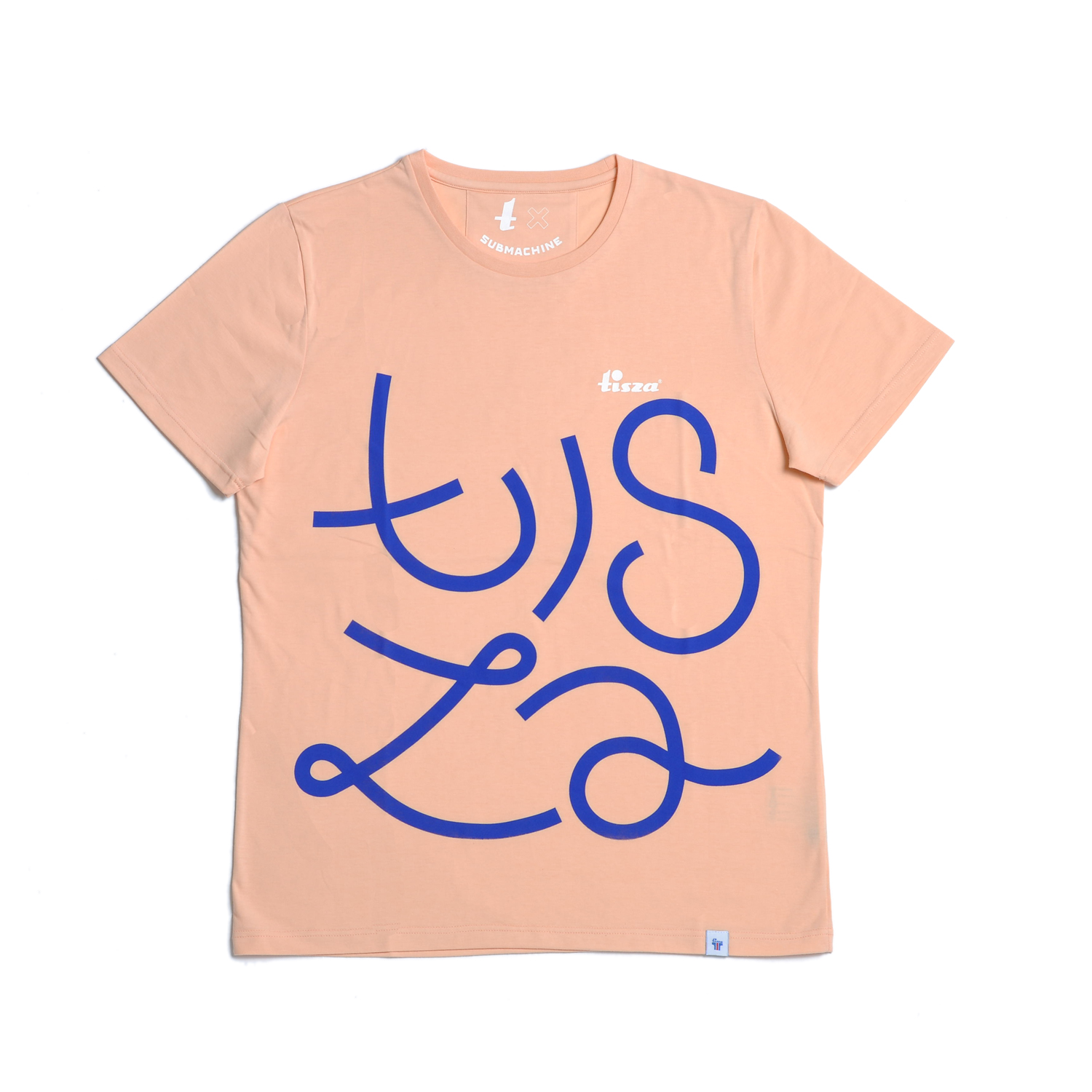 Tisza shoes - T-shirt - Salmon