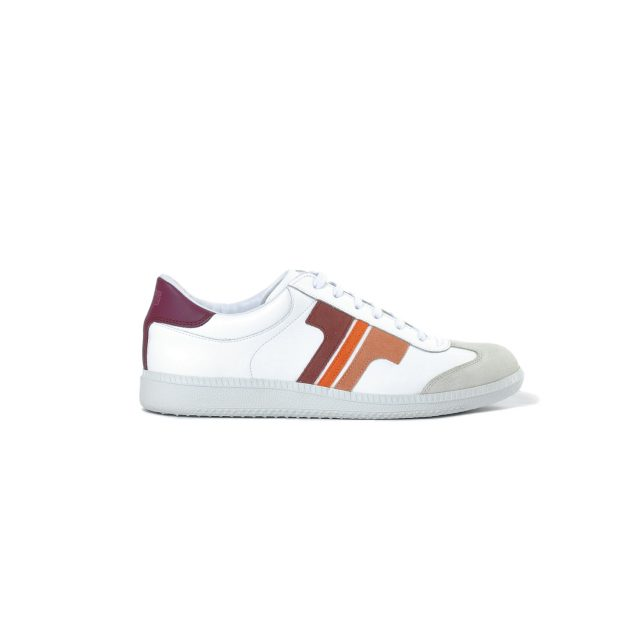 Tisza shoes - Compakt - White-coral