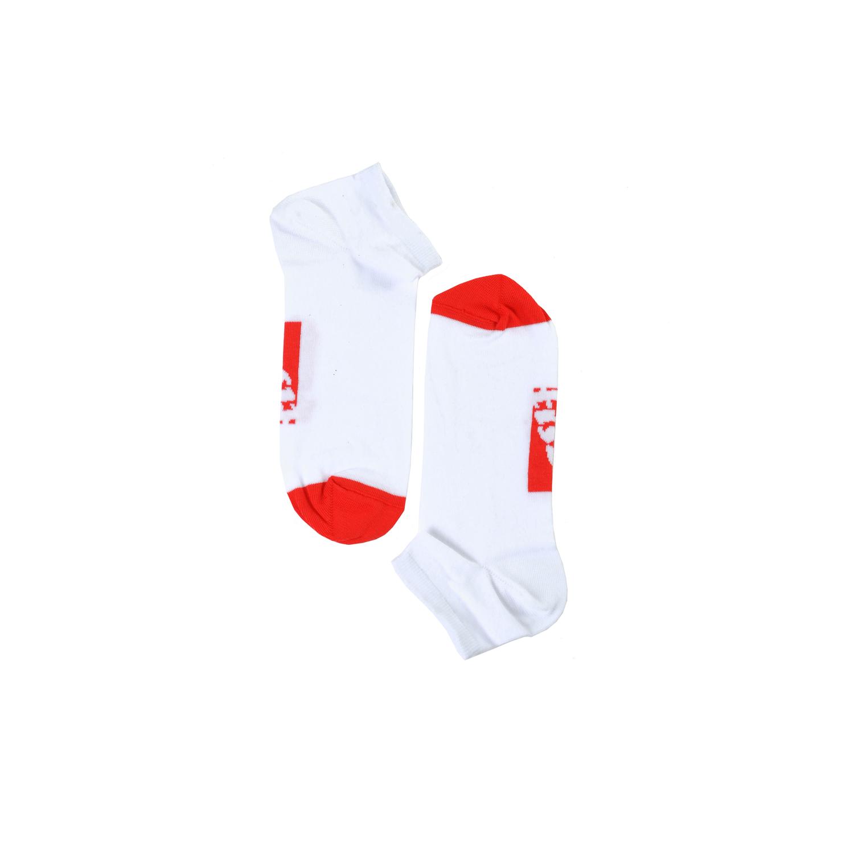 Tisza shoes - Socks - White-red