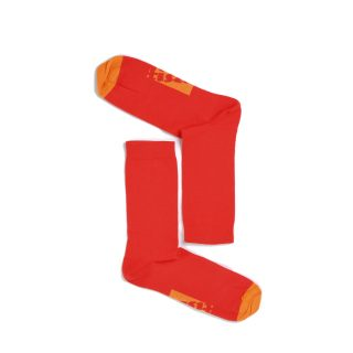 Tisza shoes - Socks - Sport Red-orange