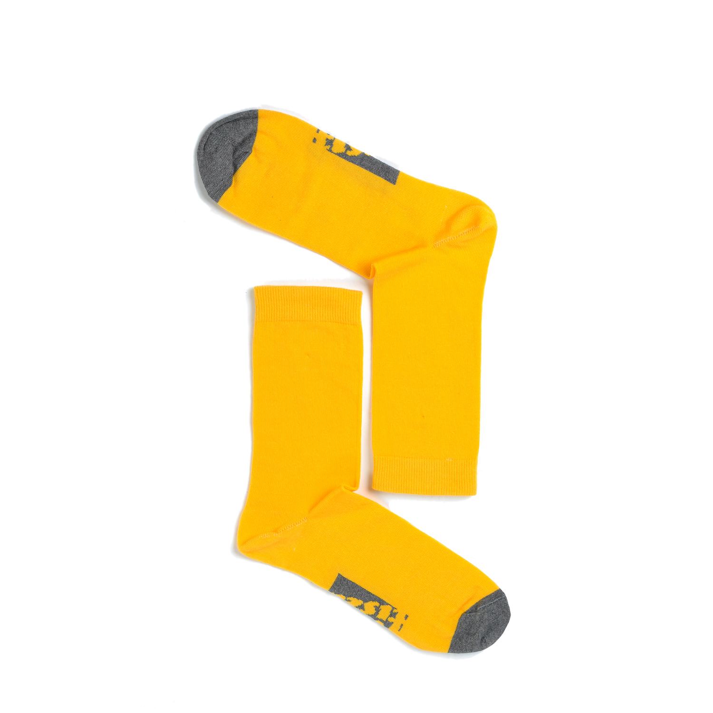 Tisza shoes - Socks - Sport Yellow-grey
