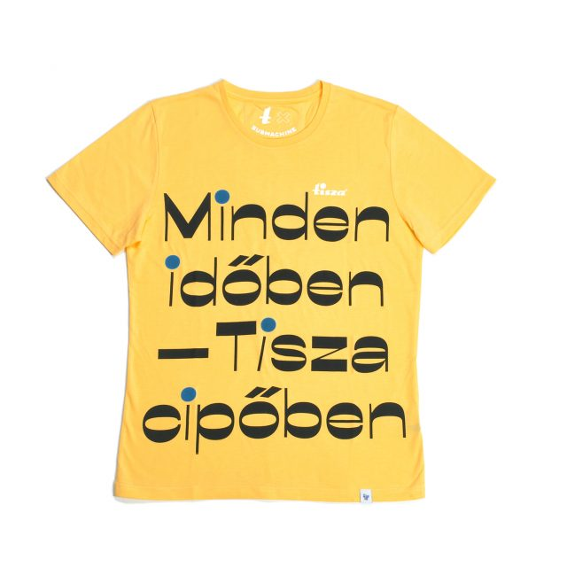 Tisza shoes - T-shirt - All the time