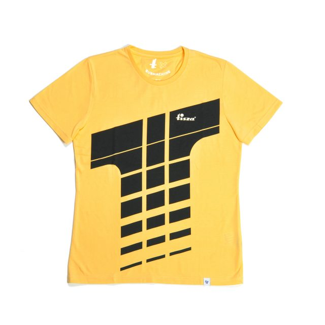 Tisza shoes - T-shirt - Derby yellow