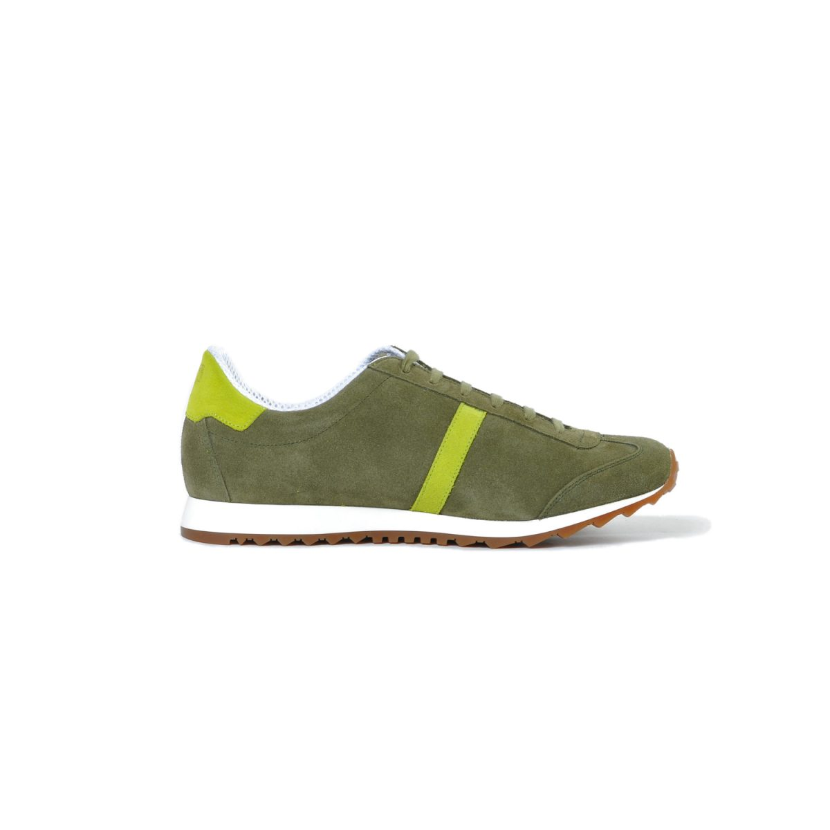 Tisza shoes - Martfű - Khaki-lime