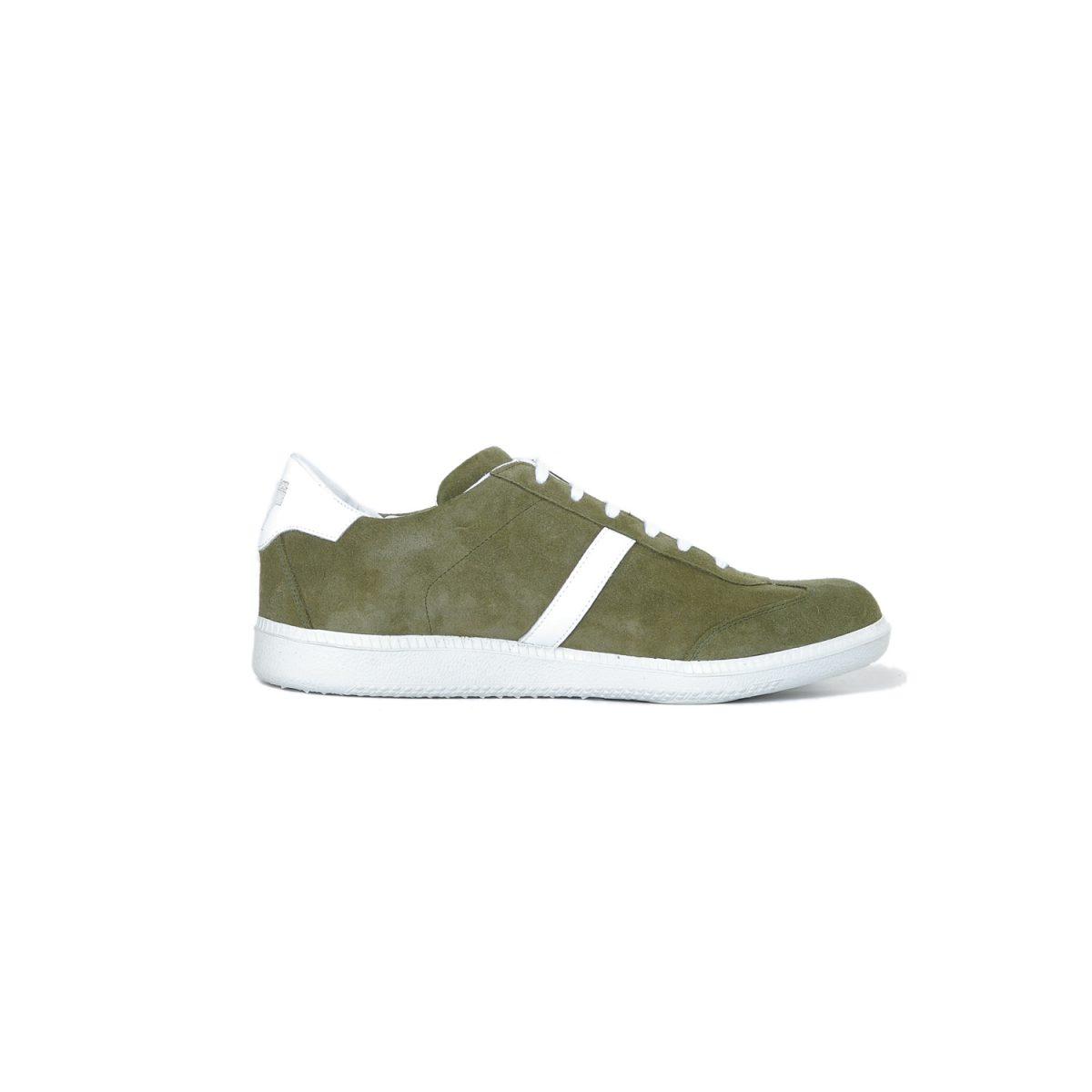 Tisza shoes - Comfort - Khaki-white