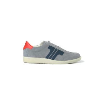 Tisza shoes - Comfort - Grey-navy-red