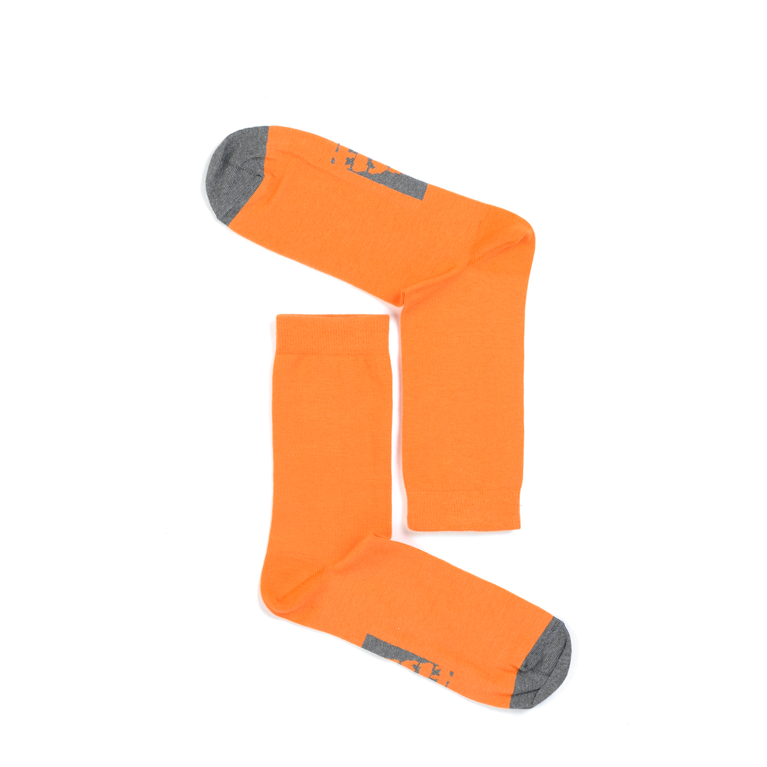 Tisza shoes - Socks - Sport Orange-grey