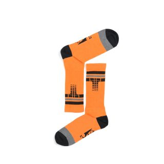 Tisza shoes - Socks - Derby orange