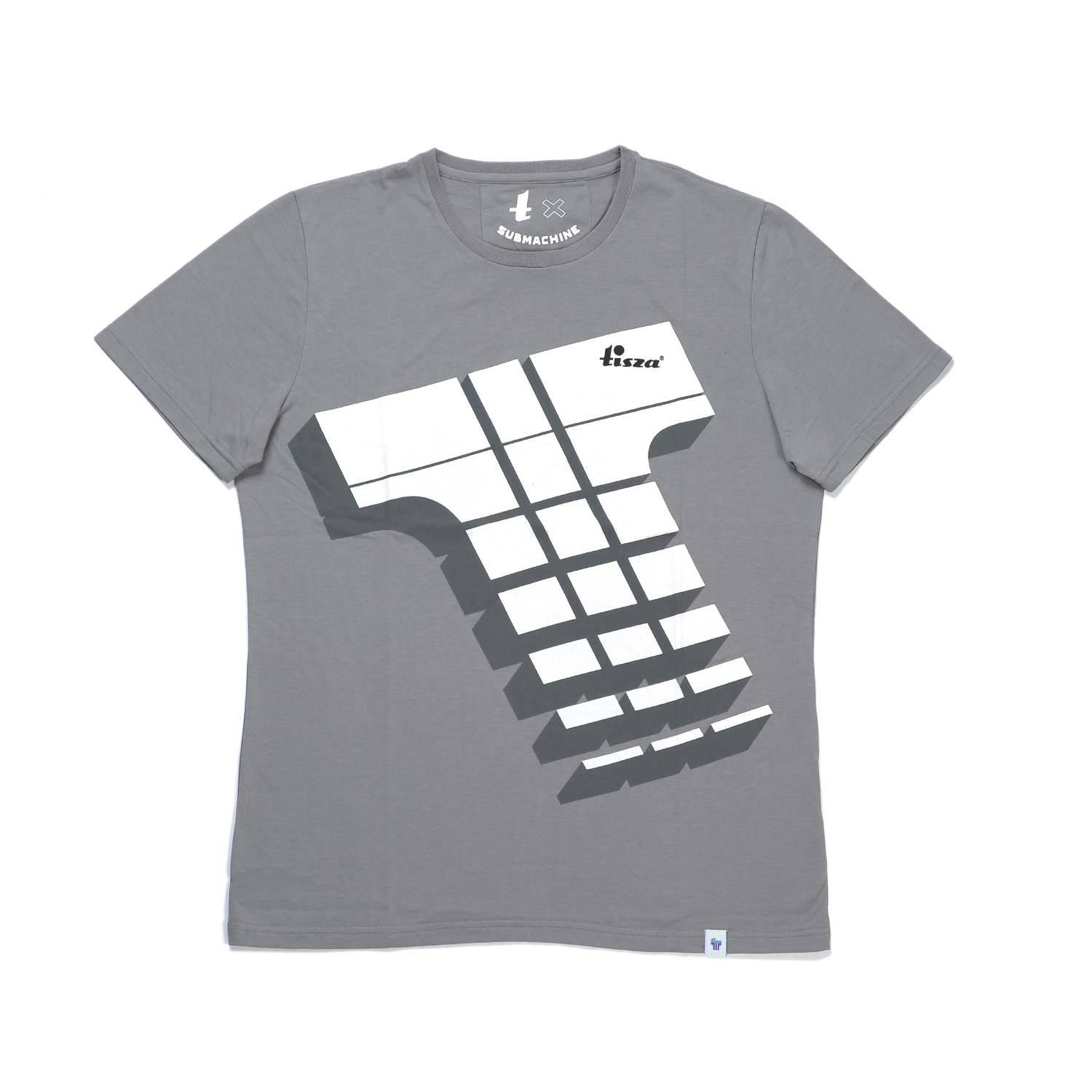 Tisza shoes - T-shirt - Derby grey