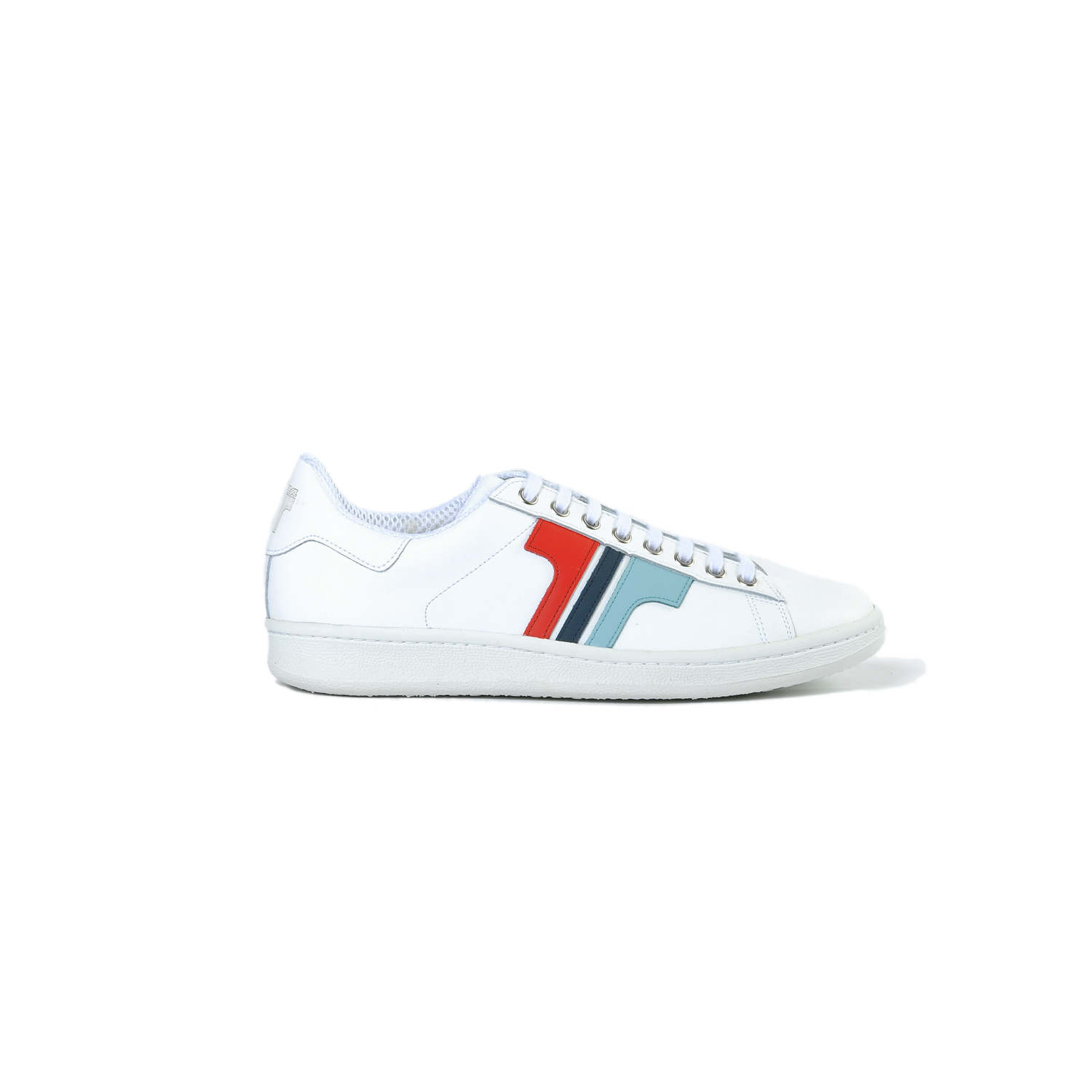 Tisza shoes - Tradíció'80 - White-blue-red