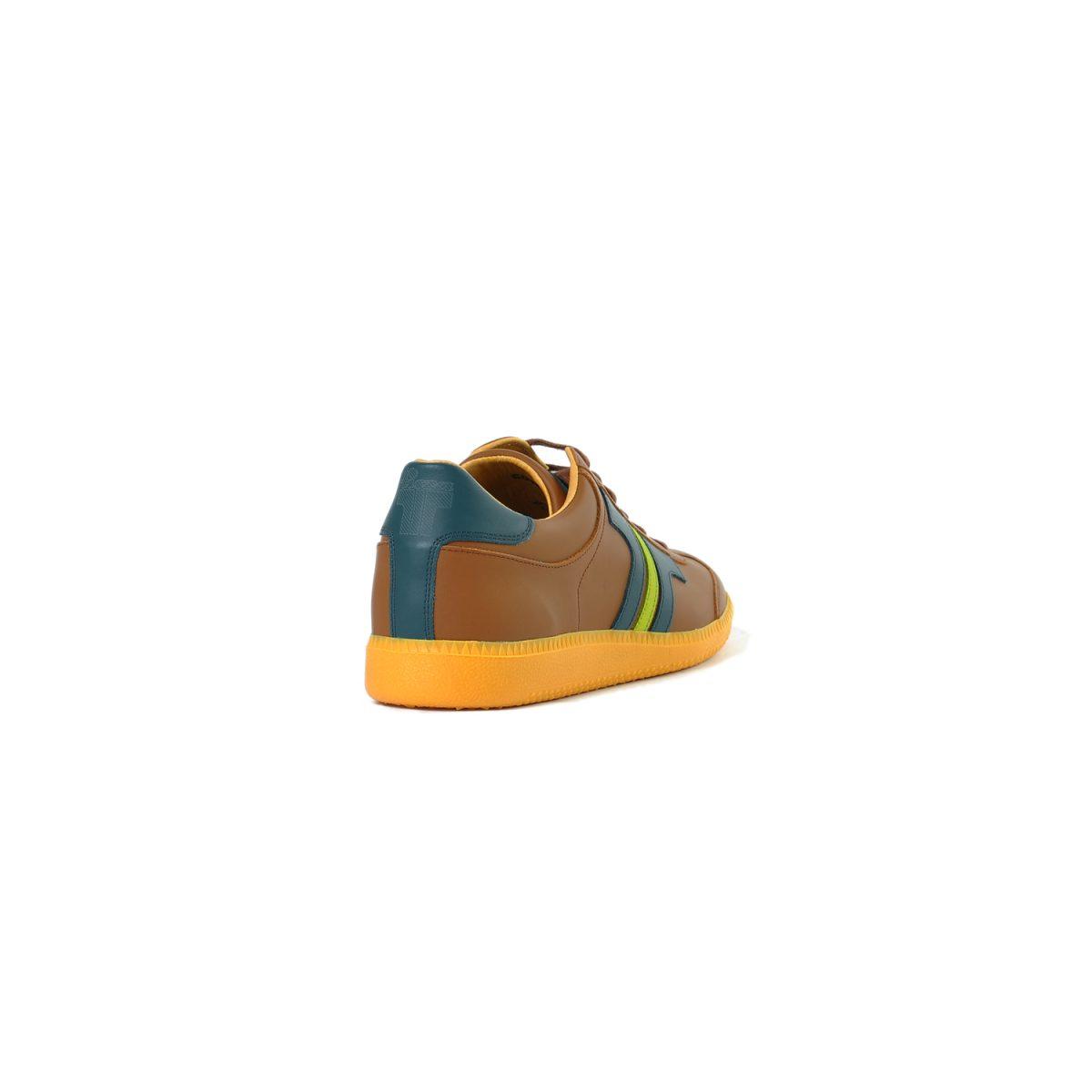 Tisza shoes - Compakt - Bronze-bluecoral
