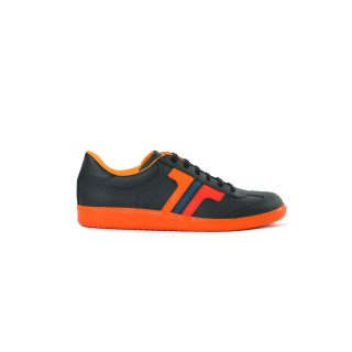 Tisza shoes - Compakt - Black-mix-orange