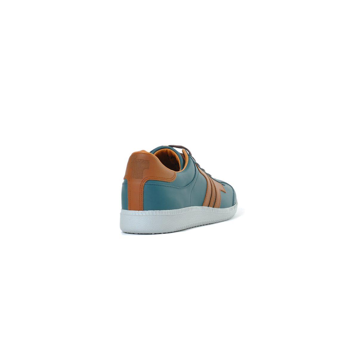 Tisza shoes - Compakt - Bluecoral-mahagony