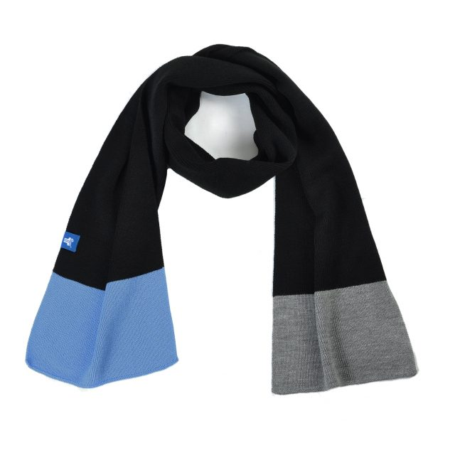 Tisza shoes - Scarf - Black-blue