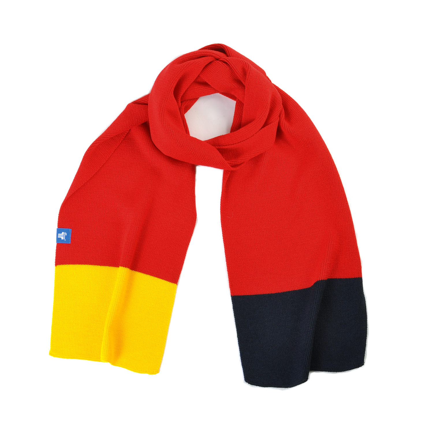 Tisza shoes - Scarf - Red-yellow