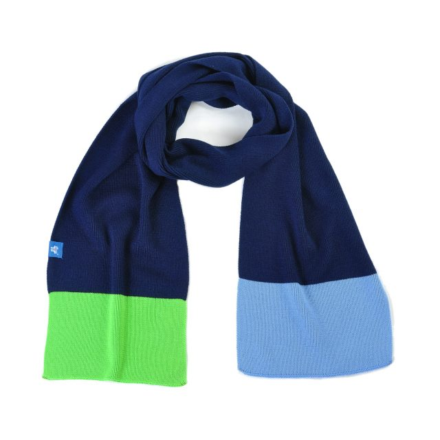 Tisza shoes - Scarf - Navy-green