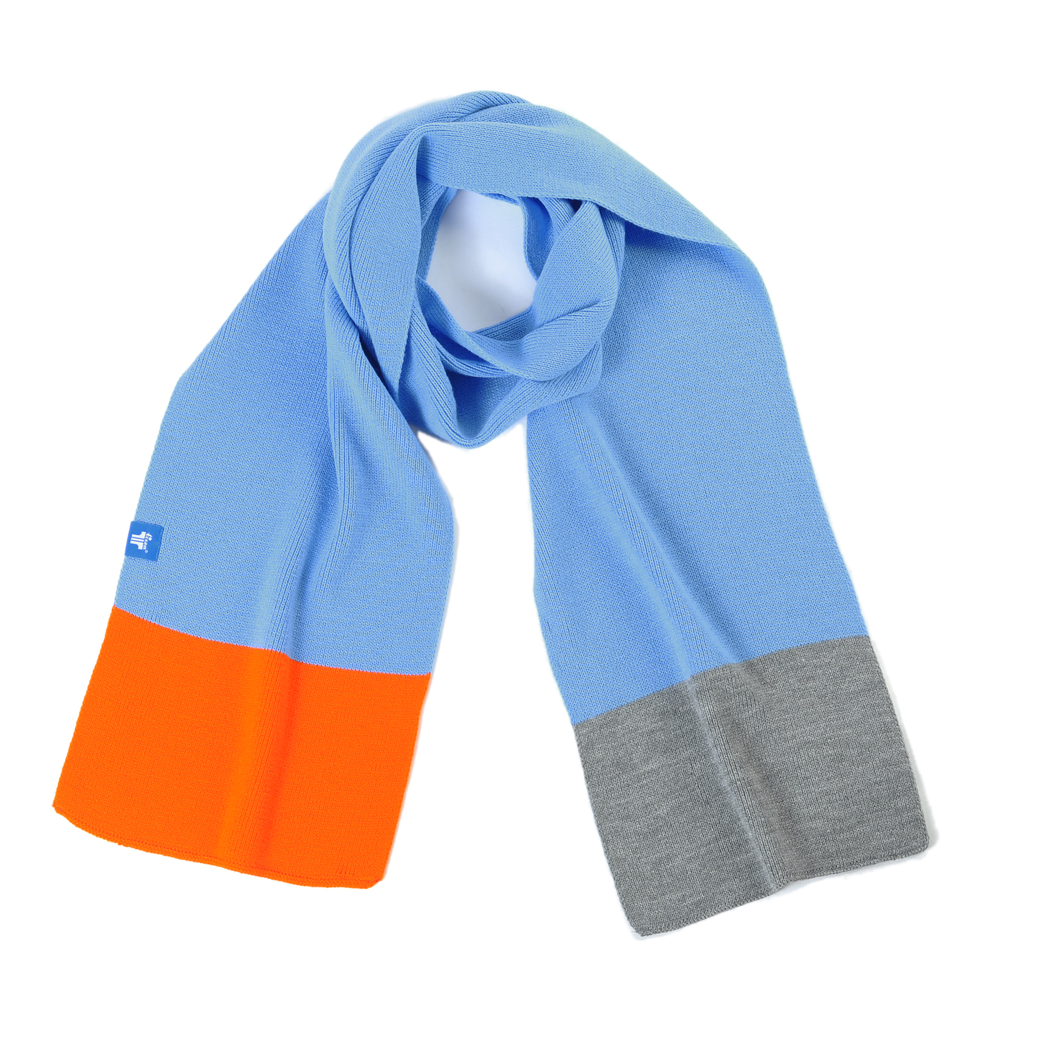 Tisza shoes - Scarf - Blue-orange