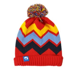 Tisza shoes - Hats - Red-yellow