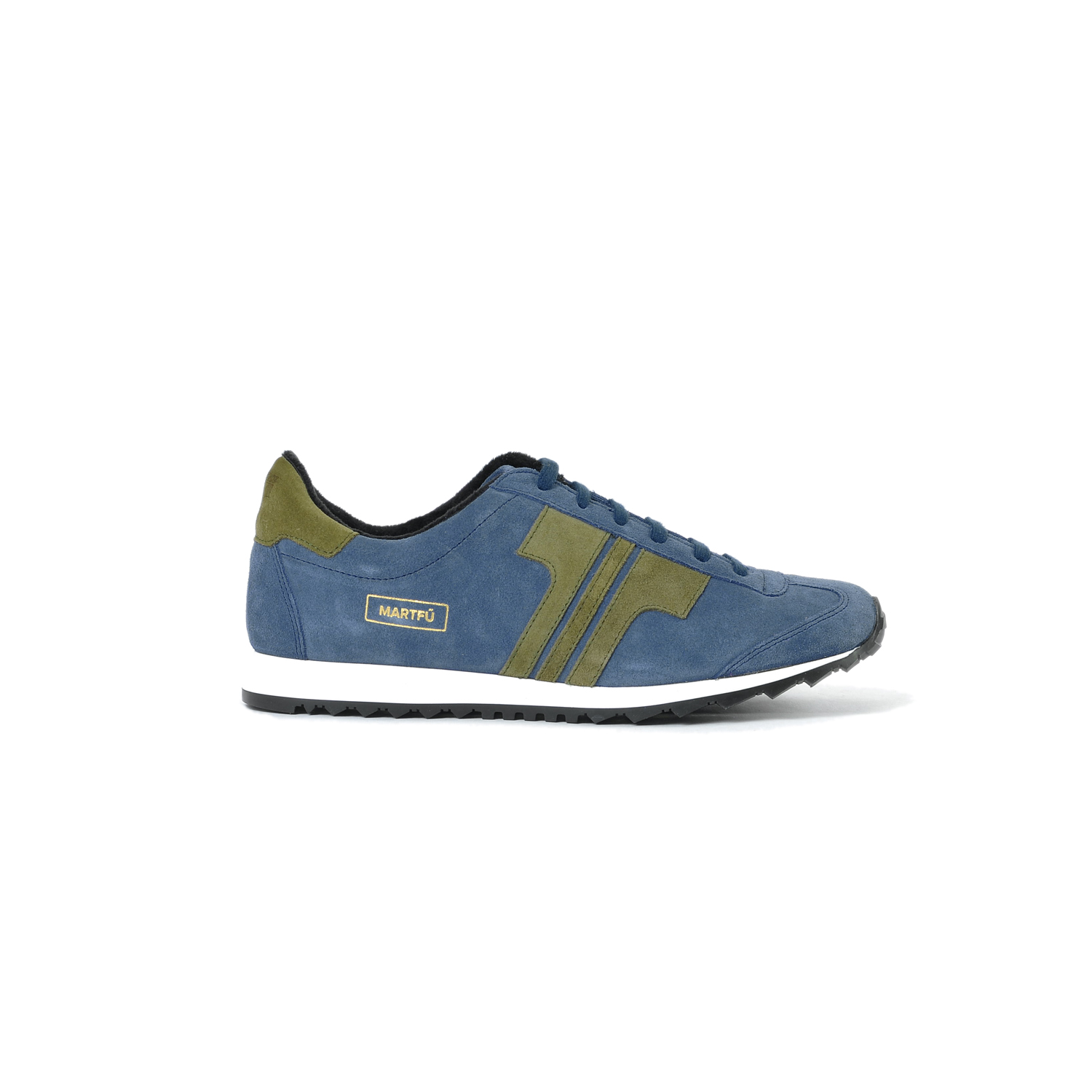 Tisza shoes - Martfű - Navy-khaki padded